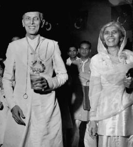 Quaid and Fatima Jinnah