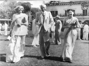 Quaid with Miss Fatima Jinnah and Begum Rahimtoola in #Bombay in 1940s.